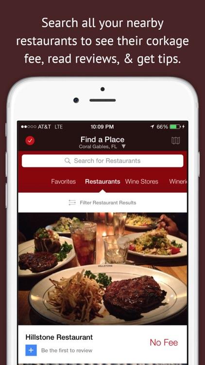 CorkageFee - Find BYOB Fees for Wine @ Restaurants