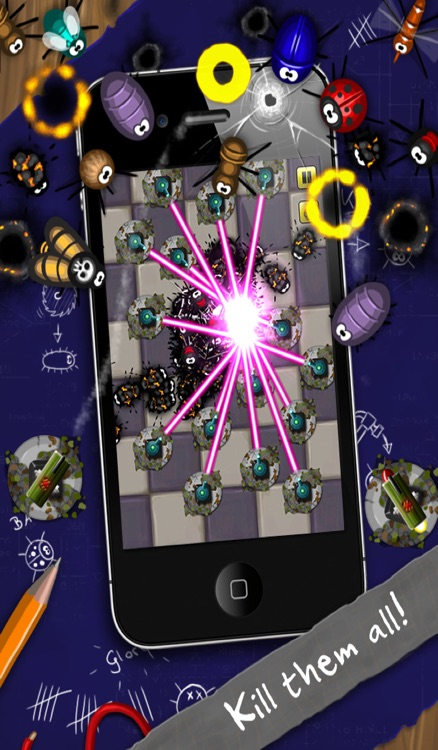 Pocket Bugs - Infinity Bugs with awesome Battle Weapons & Blades screenshot-3