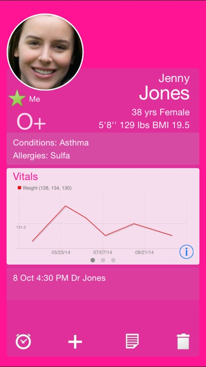 Capzule PHR - Your Personal Health Record. screenshot-0