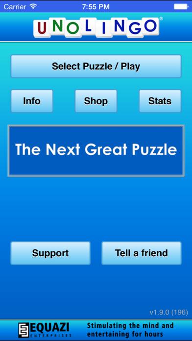 Unolingo: Crosswords Without Clues screenshot three