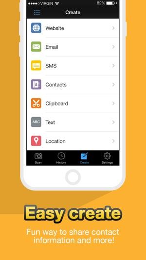 Scan QR Code - QuickMark Barcode Reader Screenshot