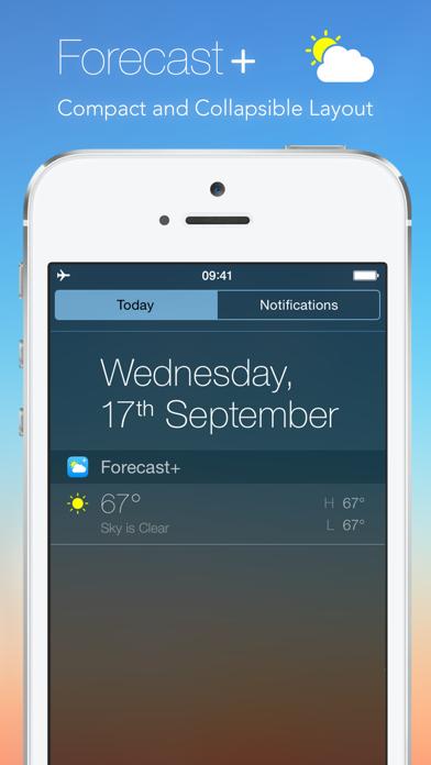 Forecast+ | Weather & Forecast Widget på PC