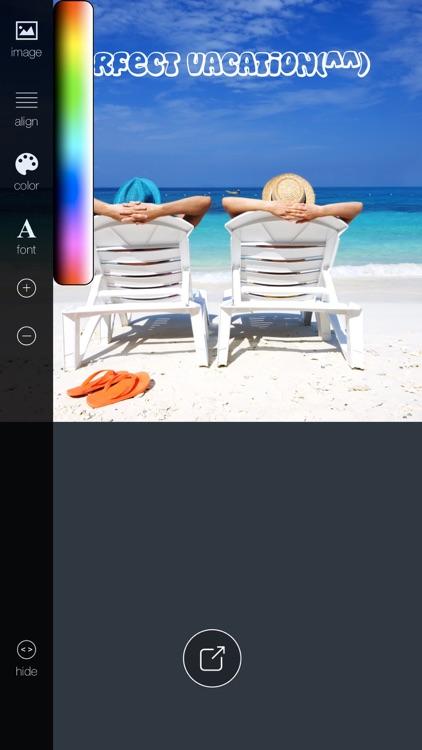 TEXTon - add text to photo! screenshot-3
