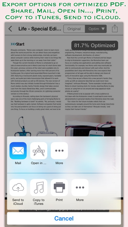 PDFOptim for iOS screenshot-3