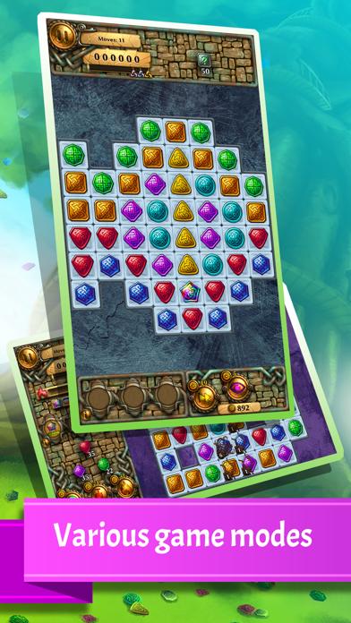 Jewel Tree: Match It puzzle (full)のおすすめ画像1