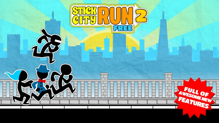 Stick City Run 2 Free By Lettu Games screenshot-0