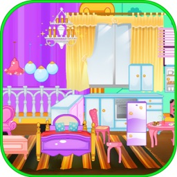 Home Cleanup & Decoration Game - room decoration for girls