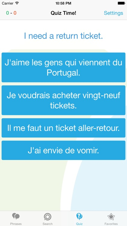French Phrasebook - Travel in France with ease screenshot-3