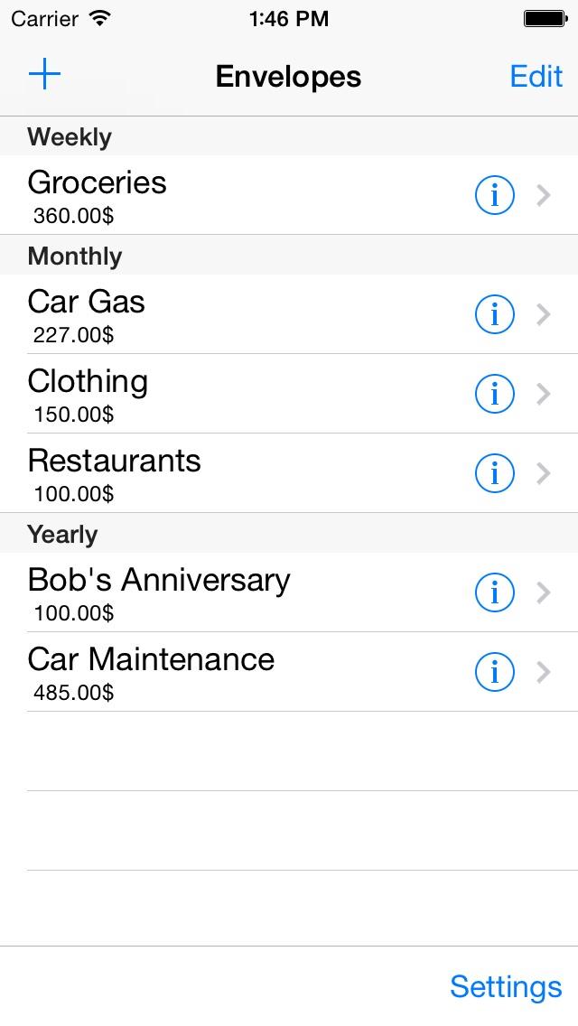 Okbudget review screenshots