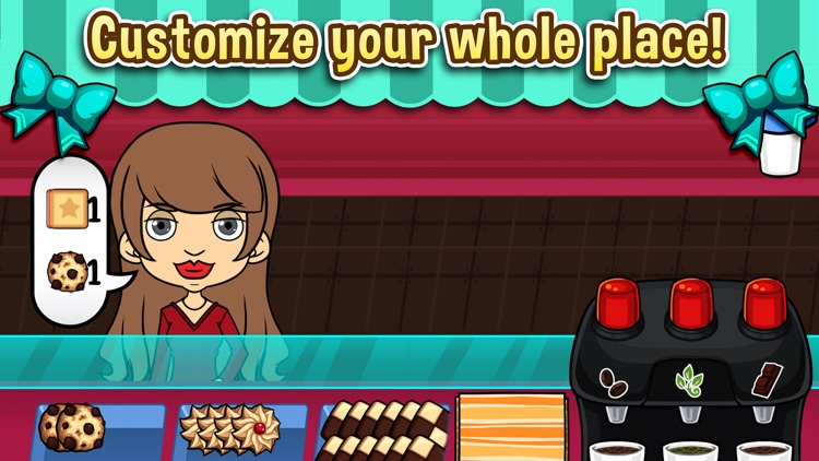 My Cookie Shop - The Sweet Candy and Chocolate Store Game screenshot-2