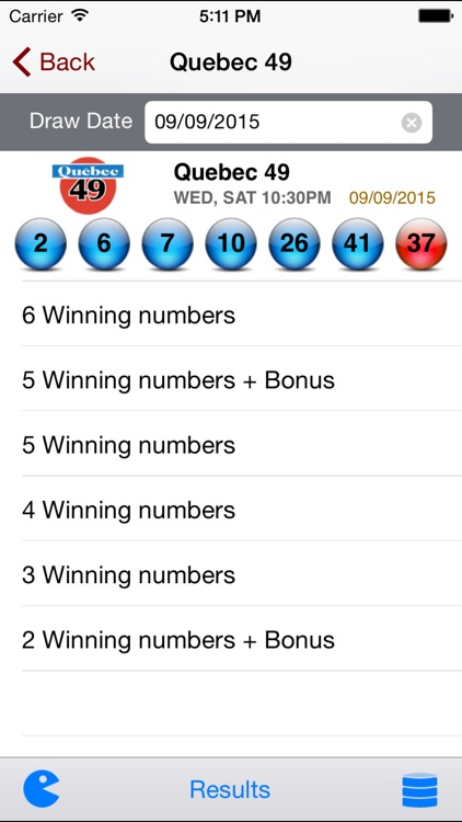 Quebec Lotto - Lotto Angel screenshot-2