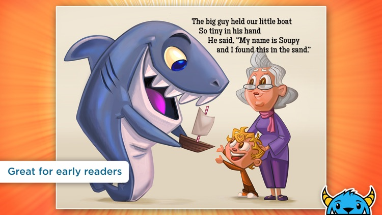 A Shark Knocked On the Door - An Interactive Animated Storybook App For Kids