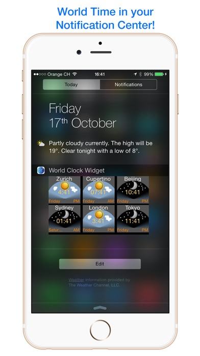 World Clock Widget - ... screenshot1