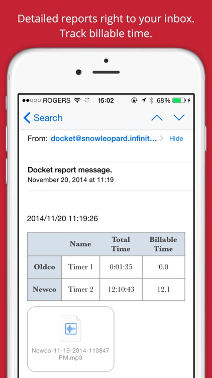 Docket Time Tracking screenshot-4