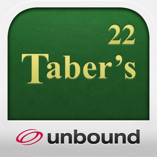 Taber's Medical Dictionary - 22nd Edition icon