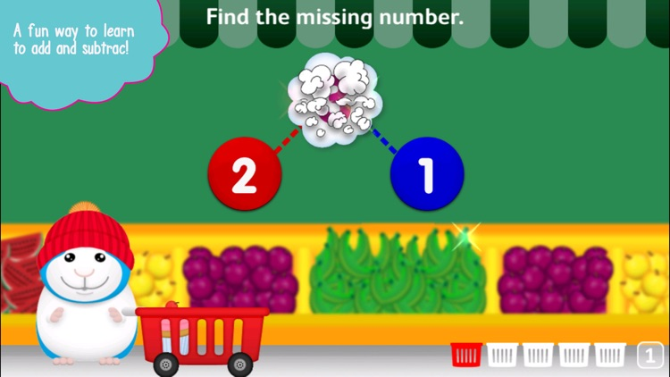 Bugsy Kindergarten Math screenshot-1