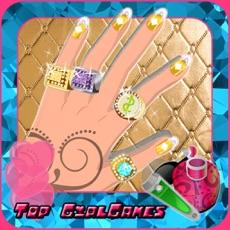 Activities of Diamond Nail Polish Manicure