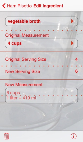 Serving Sizer Recipe Manager review screenshots