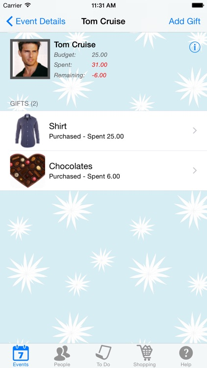 Gift List screenshot-2