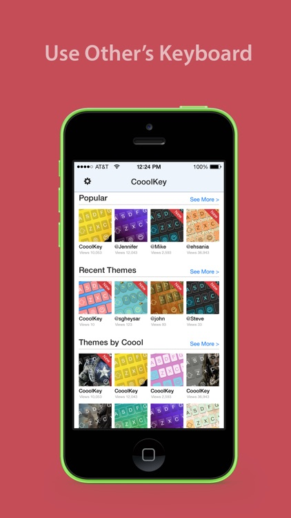 CooolKey - Keyboard for color lovers screenshot-4