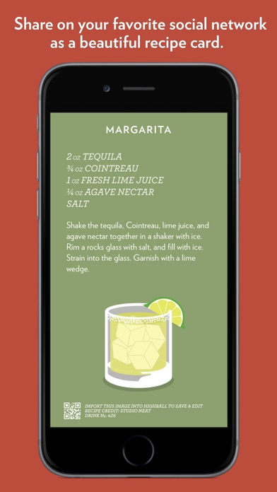 Highball - Share and Collect Cocktail Recipes Screenshot