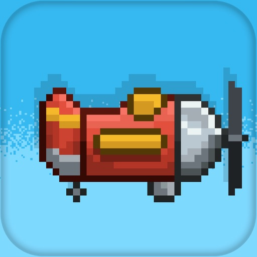 "Retry ""Spin Fly"" The Flappy Airplane- Stunt 8 Bit Free planes n Birds War Game Entertainment - You might get Angry with your crash to obstacles!"