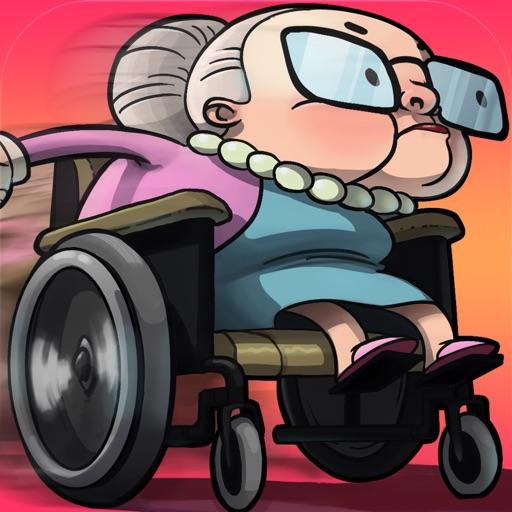 Getaway Granny - Бесплатный Злой гонки Гран Скейтборд Run издание