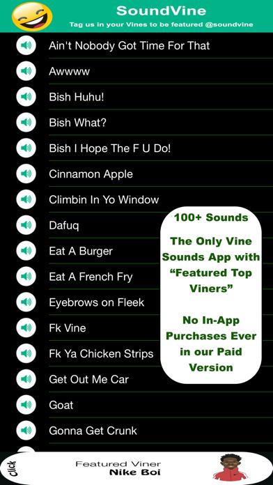 SoundVine Pro - おかしなのために Vine&YouTube サウンドのおすすめ画像1