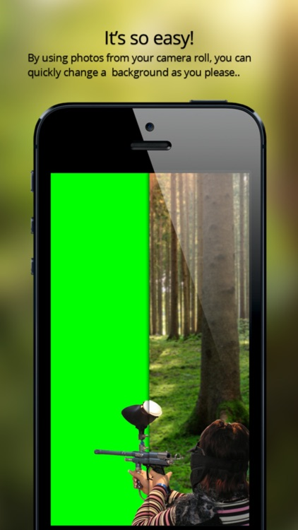 Color Screen - the Universal Green Screen App