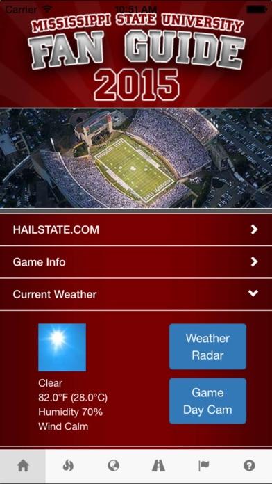 MSU Fan Guide screenshot one
