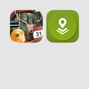 Hunting Tools: Hunting Calendar and Offline Maps