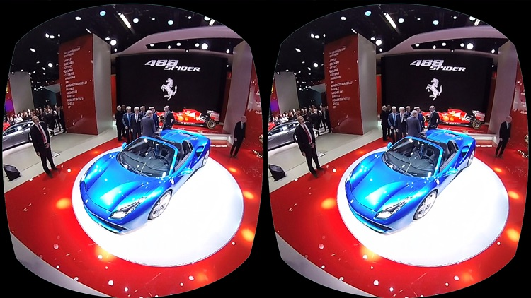 VR Virtual Reality press360 at IAA 2015 screenshot-1