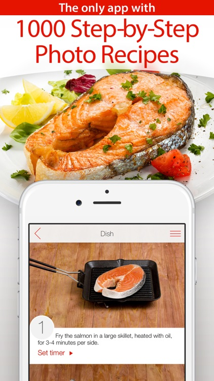 Yum-Yum! 1000+ Free Recipes with Step-by-Step Photos & Grocery Shopping List screenshot-0