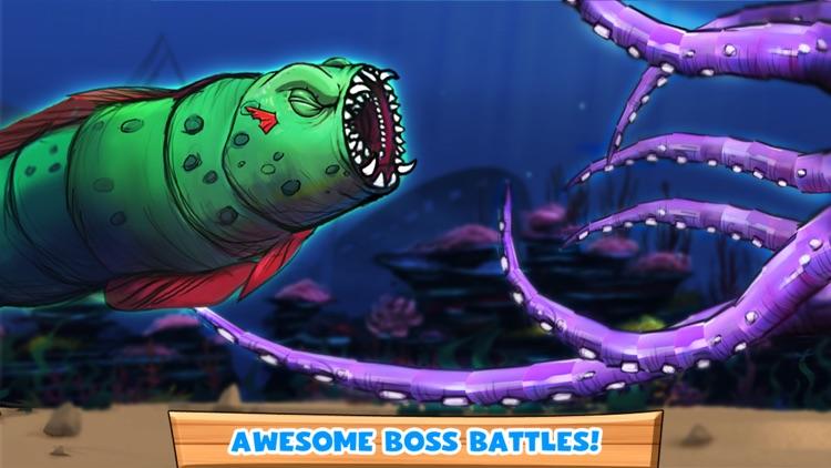 Speedy Scuba Steve : A Perilous Swimming Side Scroller! screenshot-4