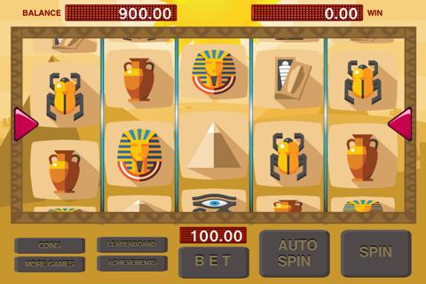 Slots - Pharaoh and Cleopatra Treasure Machine screenshot 1