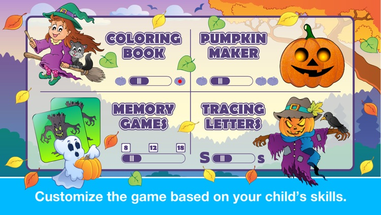 Halloween Learning Games for Preschool and Kindergarten Kids by Abby Monkey® screenshot-4