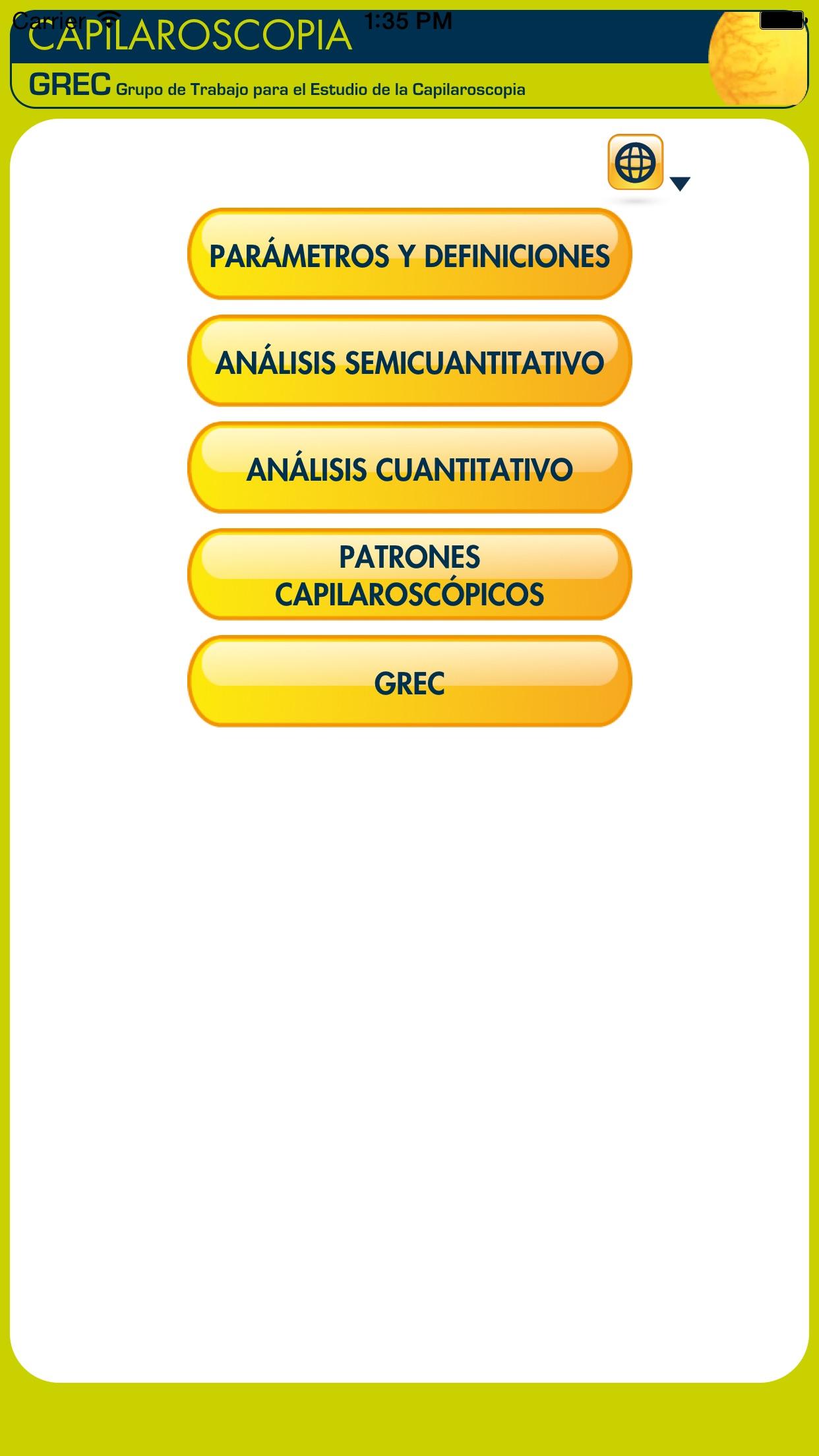 Capillaroscopy Screenshot