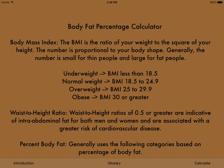 BMI & Body Fat screenshot-4