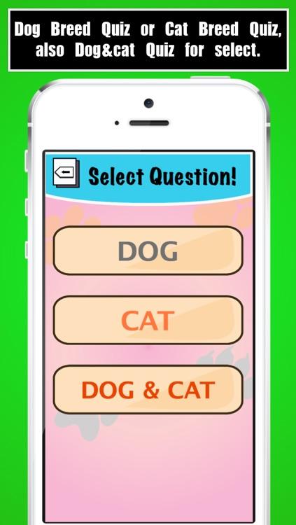 Dog Breed Quiz, Cat Breed Quiz