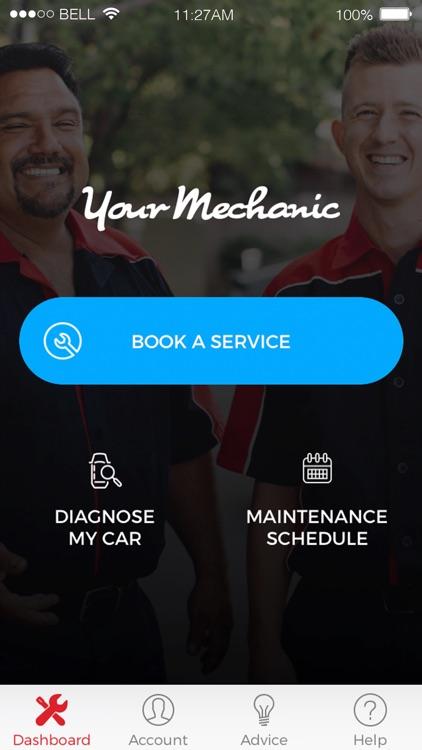 YourMechanic Mobile App
