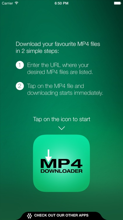 MP4 Downloader: video file download in 2 easy steps screenshot-0