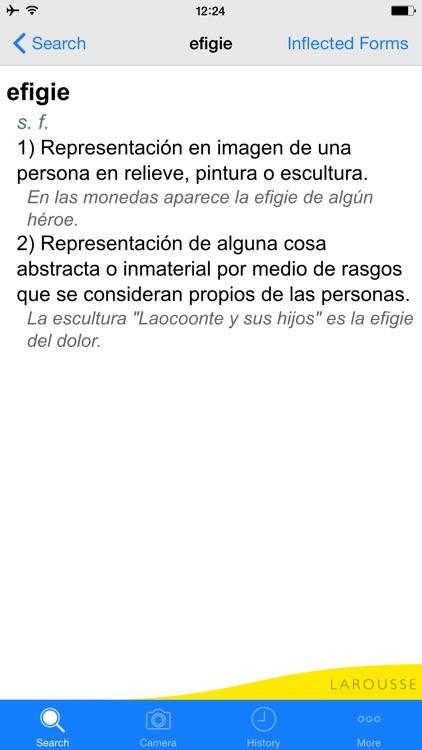 Larousse Spanish Advanced Dictionary screenshot-3