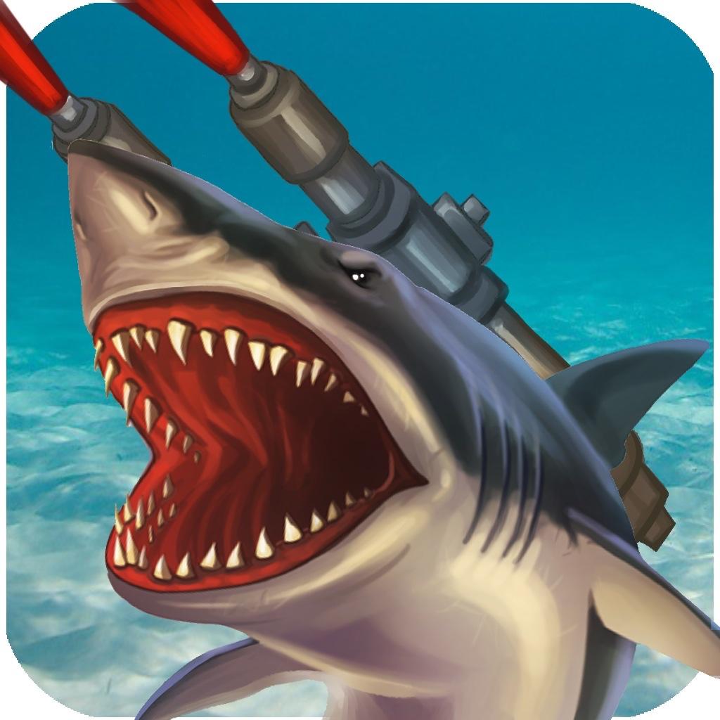 Finger Shark with Freaking Laser Beams
