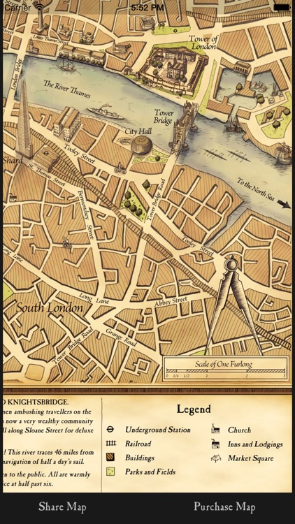 Vintage London Map Guide By Wellingtons Travel Co By Littlequest