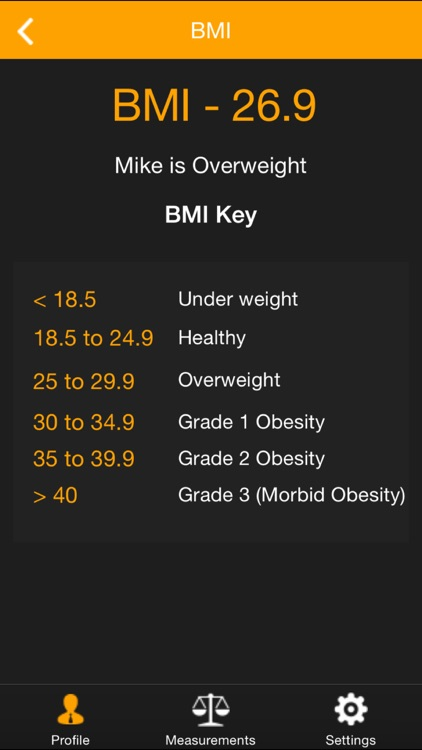 My Size - BMI, Weight, Body Fat & Body Measurement Health Tracker screenshot-4