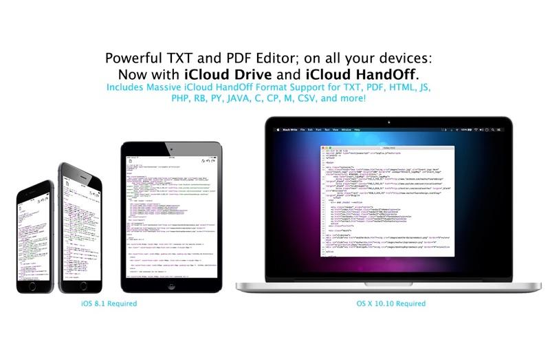 TXT Write Screenshot