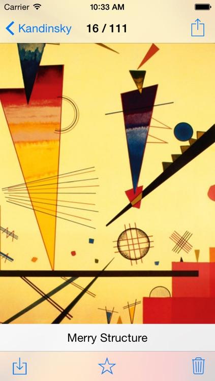 Kandinsky 111 Paintings HD 100M+ Ad-free screenshot-3
