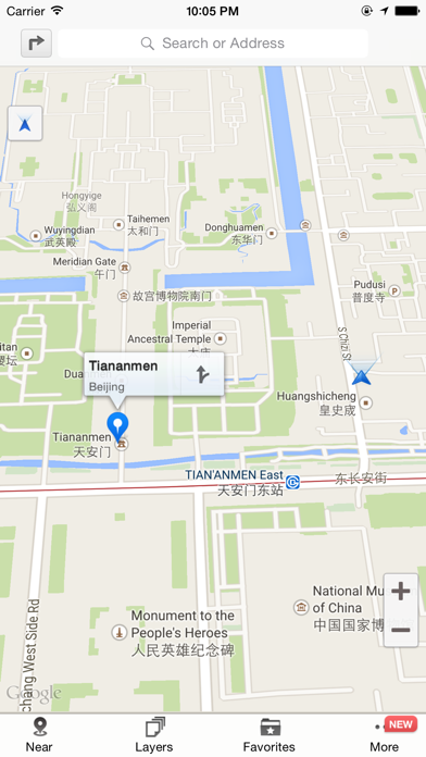 Good Maps - for Google マップ, with Offline Map, Directions,Street view and Moreのおすすめ画像1