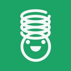 ばね|本物のばねのように伸び縮み!子供向け無料知育アプリ icon