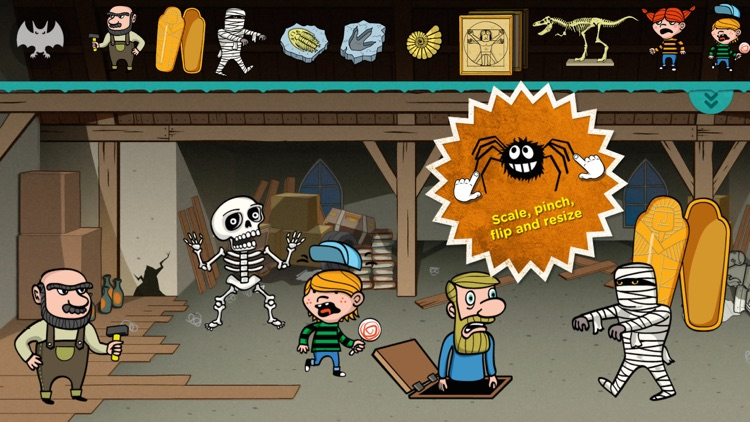 Buildo Museum Sticker Book screenshot-2